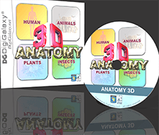 ANATOMY 3D Pro Software - Human, Physiology, Animal, Plant, Insect