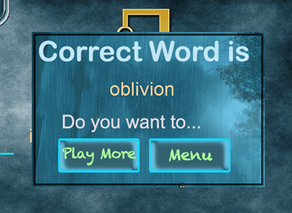 Hangman - Games to learn English words
