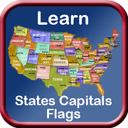 states capitals flags of united states