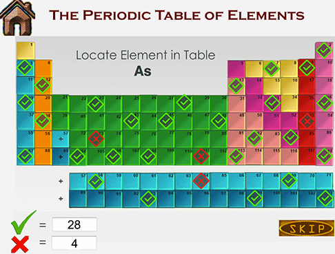 Learn periodic table of elements practice mode and quiz mode for learning periodic table of elements urtaz Choice Image