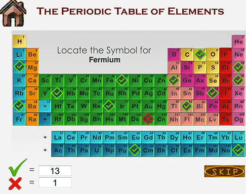 Learn periodic table of elements quiz names name the element from its symbol urtaz Gallery