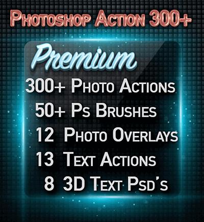 premium photoshop actions & plugin sets for adobe