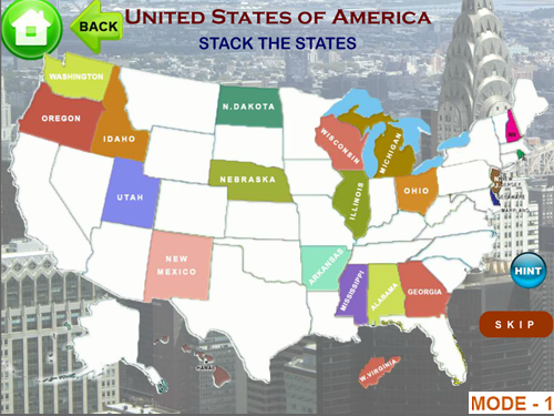 Learn United States Of America Map Puzzles Quiz History States - Us map puzzle quiz